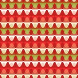 Trendy Christmas Stripes Background Seamless Vector Pattern royalty free illustration
