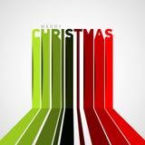 Christmas-stripes-sign3 Fotografía de archivo