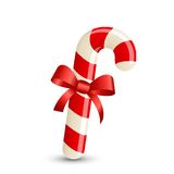 Christmas stripped candy cane Stock Photo