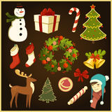 Christmas stuff. Stock Images