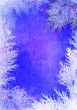 Christmas styled frame Royalty Free Stock Photos