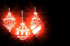 Christmas stylized illustration on a black background-6 Stock Photos