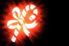 Christmas stylized illustration on a black background-7 Stock Images