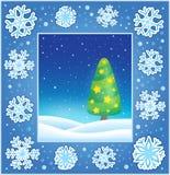 Christmas subject greeting card 3 Stock Photography