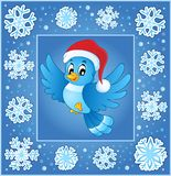 Christmas subject greeting card 5 Stock Image