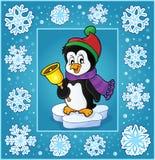 Christmas subject greeting card 6 Royalty Free Stock Photo