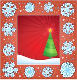 Christmas subject greeting card 2 Royalty Free Stock Photography