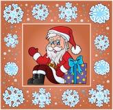 Christmas subject greeting card 7 Stock Photo