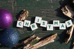 Christmas subtitles Royalty Free Stock Image