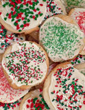 Christmas sugar cookies Stock Image