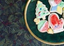 Christmas Sugar Cookies Stock Image