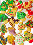 Christmas Sugar Cookies - Graphic Presentation Stock Photo