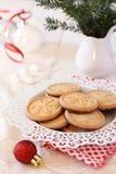 Christmas sugar cookies Royalty Free Stock Images