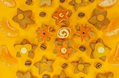 Christmas sugar cookies Stock Photography