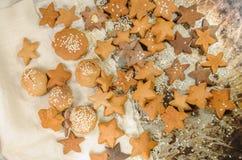 Christmas sugar cookies Stock Images