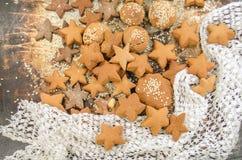 Christmas sugar cookies Royalty Free Stock Image