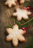 Christmas sugar cookies. Royalty Free Stock Images