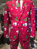 Christmas suit Royalty Free Stock Photography