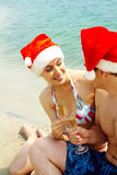 Christmas in summer Royalty Free Stock Image