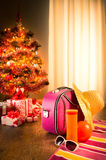 Christmas sun holidays Royalty Free Stock Photos