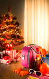 Christmas sun holidays Stock Photography
