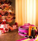 Christmas sun holidays Stock Image