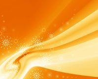Christmas sunny background Royalty Free Stock Photos