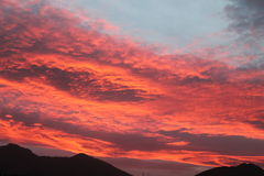 Christmas sunsets - I cieli di Natale -  Italy Stock Image