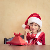Christmas support center Stock Image