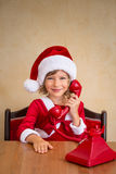 Christmas support center Royalty Free Stock Photography