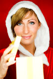 Christmas surprise Royalty Free Stock Photography