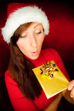 Christmas surprise Royalty Free Stock Images
