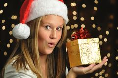 Christmas Surprise! Royalty Free Stock Images