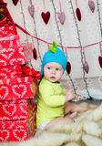 Christmas surprise Stock Photo