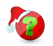 Christmas surprise concept Royalty Free Stock Images