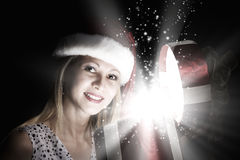 Christmas surprise Royalty Free Stock Photos
