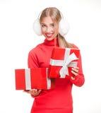 Christmas surprise. Stock Photo