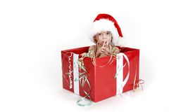 Christmas Surprise - series Stock Photography