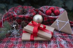Christmas surprises prepared for loved ones Stock Image