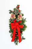 Christmas Swag 7. Swag made of dried and silk flowers Royalty Free Stock Images