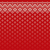 Christmas Sweater Design. Seamless Knitting Pattern Royalty Free Stock Photos