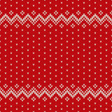 Christmas Sweater Design. Seamless Pattern Royalty Free Stock Images