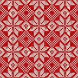 Christmas Sweater Design. Seamless Pattern Stock Photography