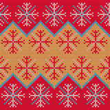Christmas Sweater Pattern9 Royalty Free Stock Photos