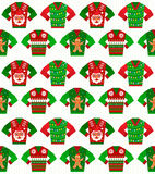 Christmas Sweater Seamless Royalty Free Stock Photos