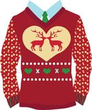 Christmas Sweater Stock Photography