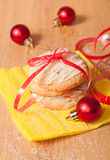 Christmas sweet and decoration Royalty Free Stock Images