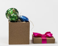 Christmas sweet gifts Stock Image