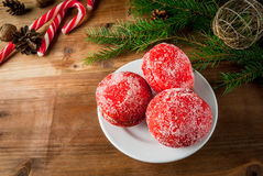 Christmas sweet pastries Royalty Free Stock Photo