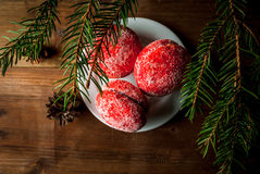 Christmas sweet pastries Stock Photo